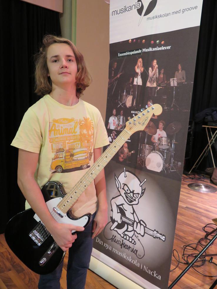 Gitarrvinnaren Axel