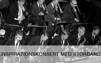 Inspirationskonsert med storband